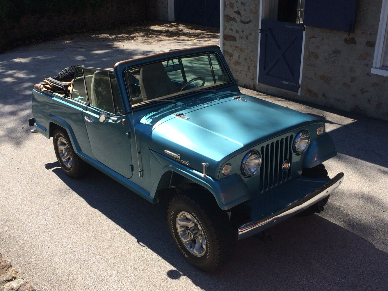 Resto Mod 67 Jeepster They Should Seriously Bring These Back Updated