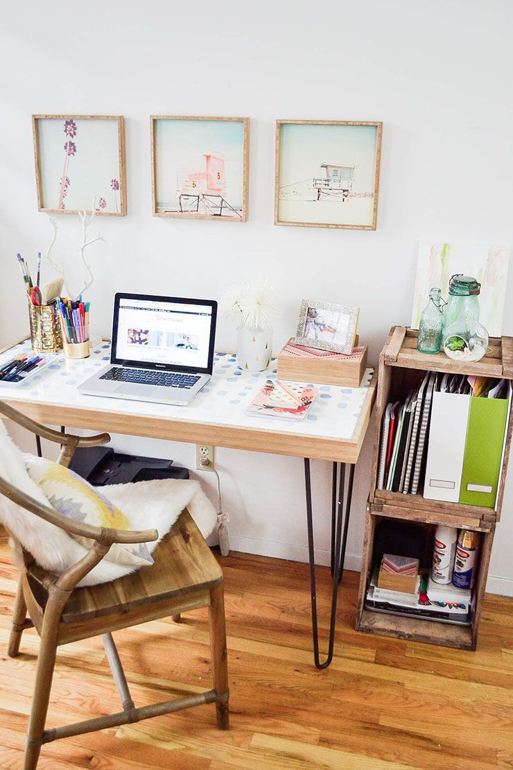 Small Spaces: How to Create a Home Office in a Tiny Apartment ...