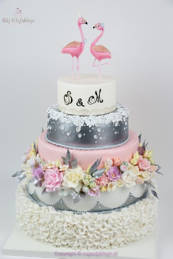 Fifty Cake Topper Naked Cake
