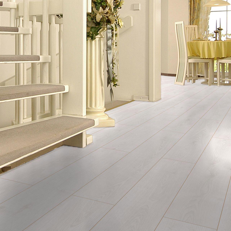 Colours Arlington White Oak Effect Laminate Flooring 1