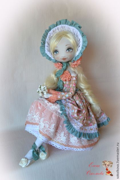 Коллекционные куклы ручной работы. Лизанька.. Куклы   Соколковой Елены. Ярмарка Мастеров. Кукла ручной работы, бисер
