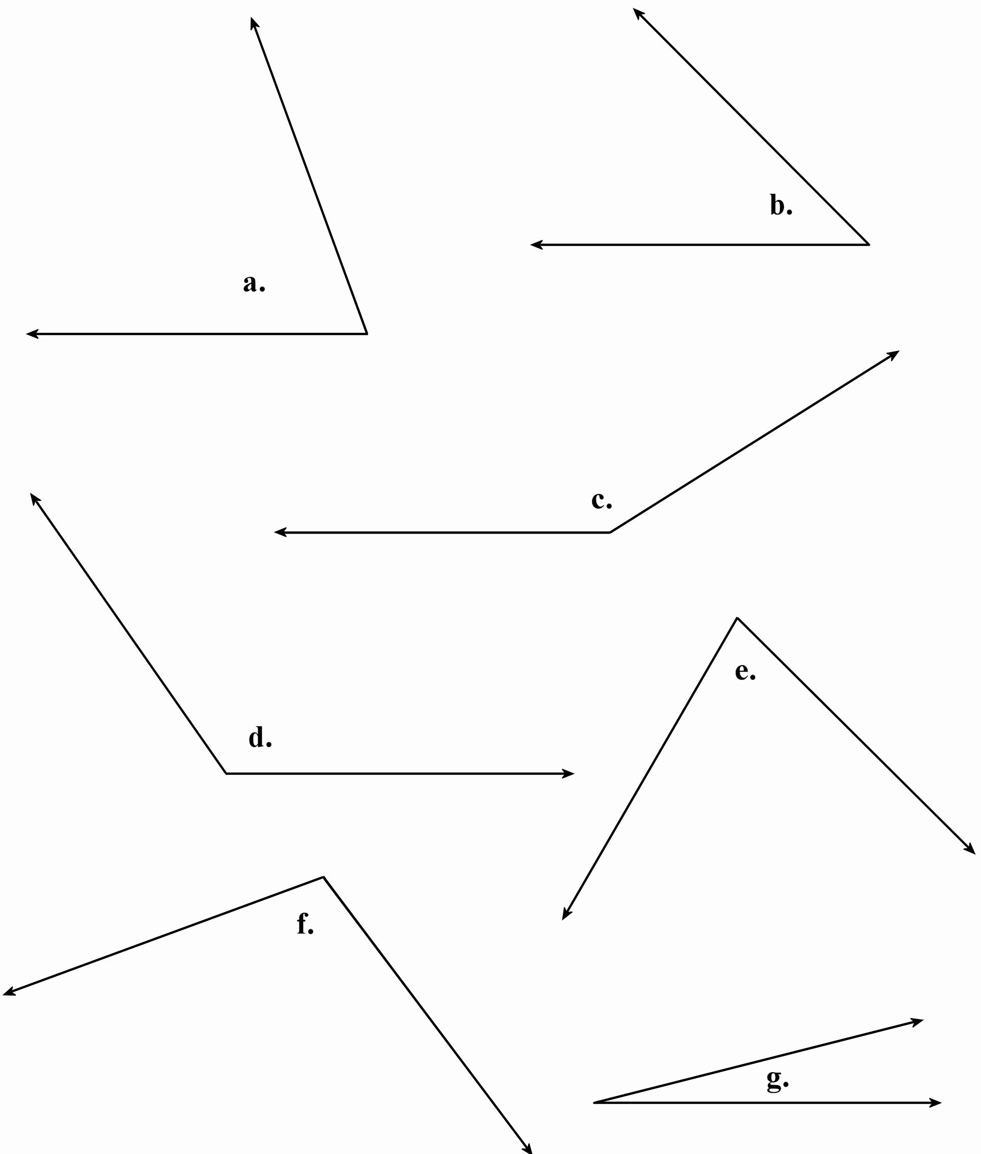 Find The Missing Angle Worksheet Best Of Measuring And