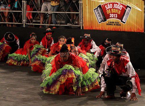 Abertura do 6º Campeonato de Quadrilhas do São João da Bahia. Elói CorrêaGOVBA