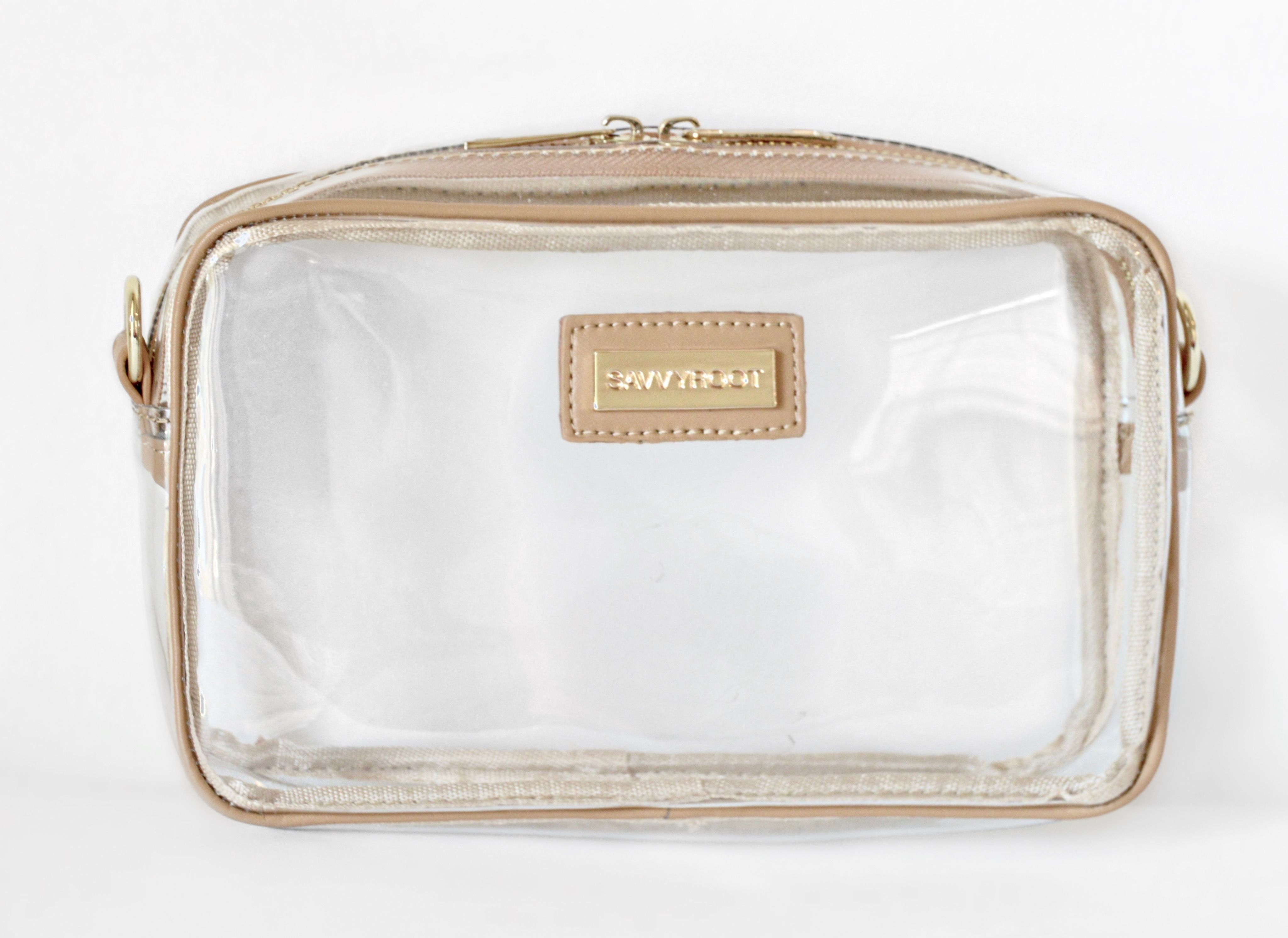653f1efad86a Gameday Clear Bags | stadium-approved | Nude leather trim $50 ...