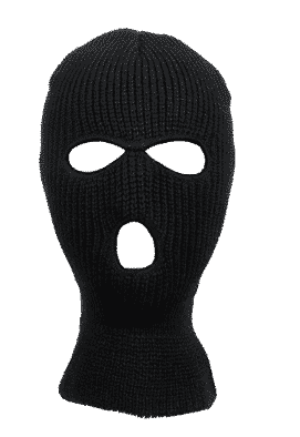 36ba1fed85f Knitted 3-Hole Full Face Cover Ski Mask