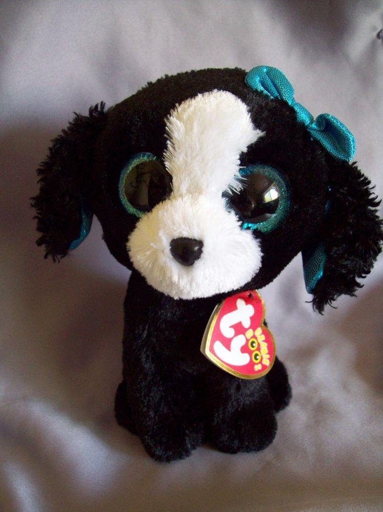 9641689082f Ty Beanie Boos Tracey Black Portuguese Water Dog 6