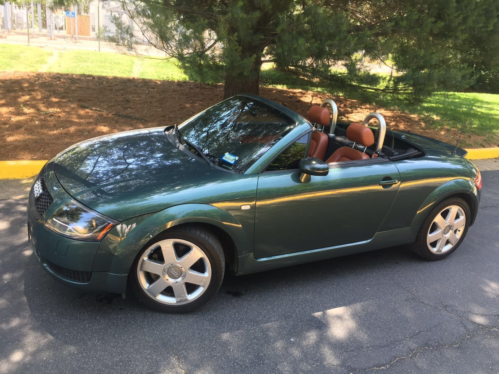 Car Brand Auctioned Audi Tt No Reserve Great Color Combination