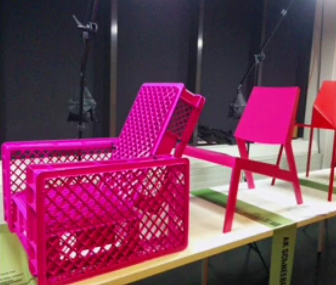 Upcycling: Liegestuhl Aus Alten Kunststoff-Kisten