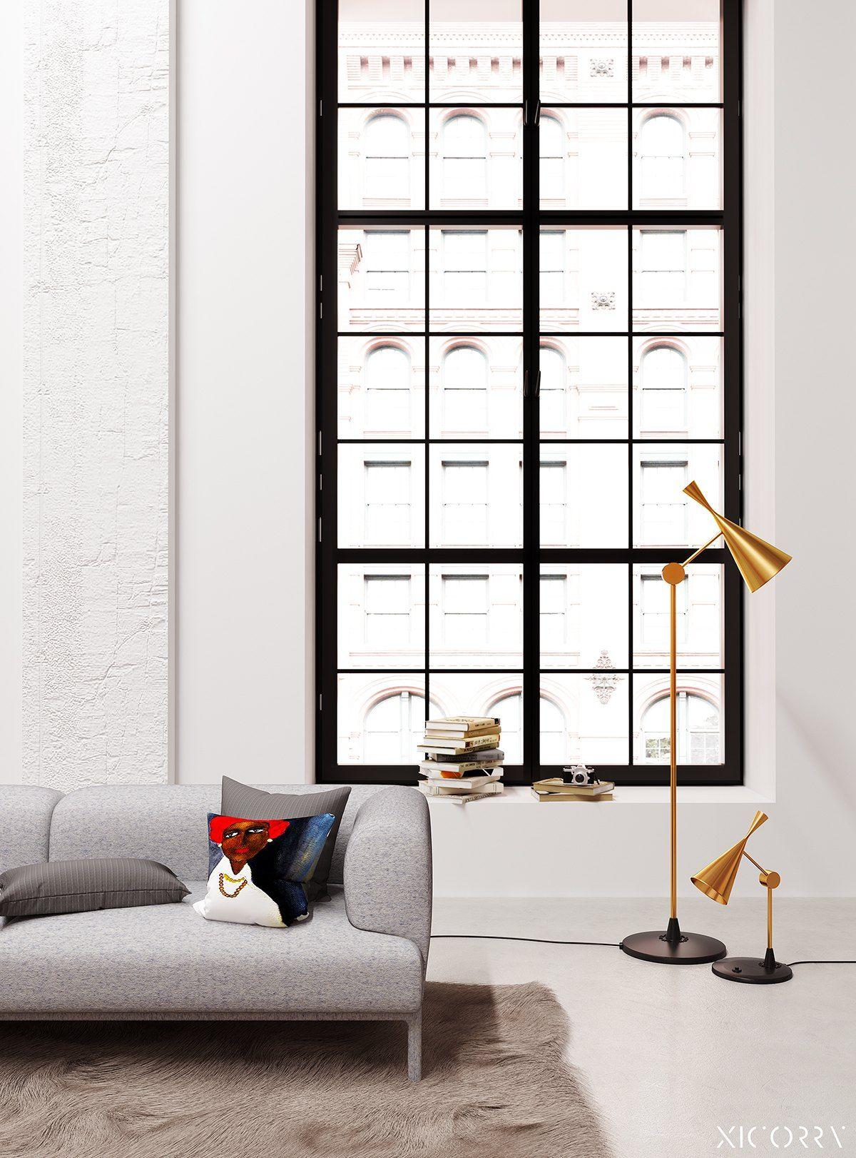 4 Duplex Lofts With Massive Windows Saloni Loft Interiors Loft