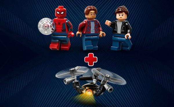 New LEGO Marvel v2 40343 Spider-Man Far From Home Minifigure Set