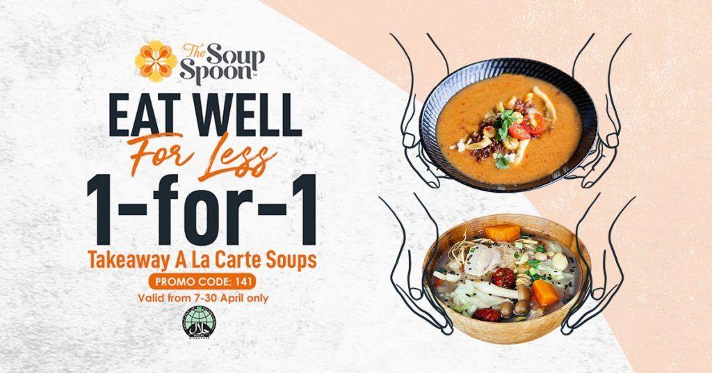 The Soup Spoon 1 For 1 Takeaway A La Carte Soups In 2020 Spoon Soup Love Eat