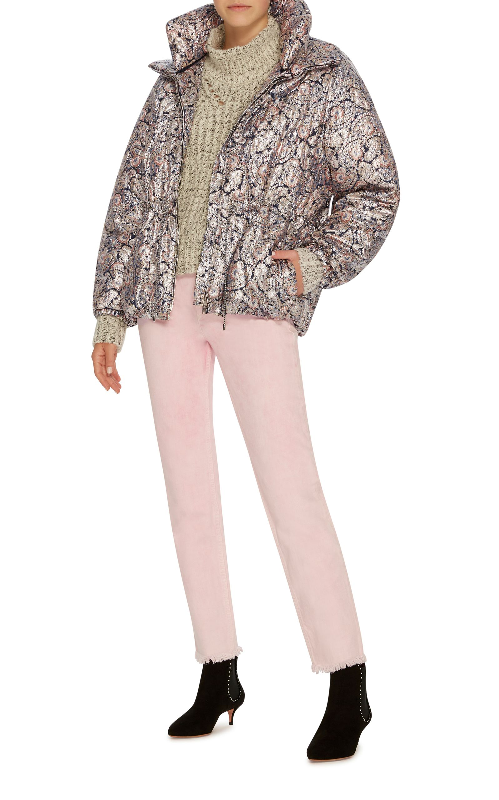 Calvin Paisley Puffer Jacket By Isabel Marant Now Available On Moda Operandi Fashion Winter Fashion Clothes [ 2560 x 1598 Pixel ]