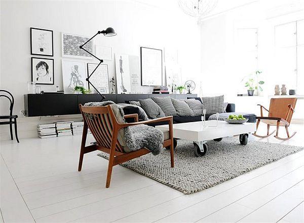 28 Gorgeous Modern Scandinavian Interior Design Ideas | living room ...