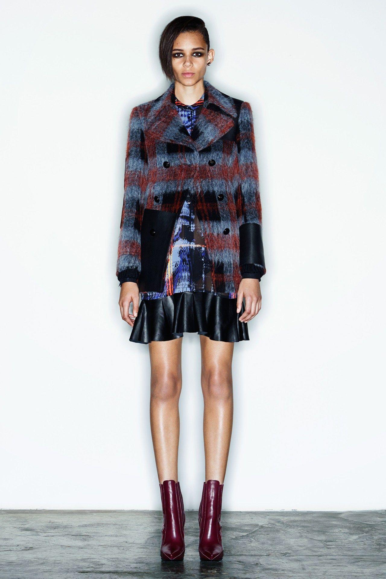 McQ fashion collection, pre-autumn/winter 2014
