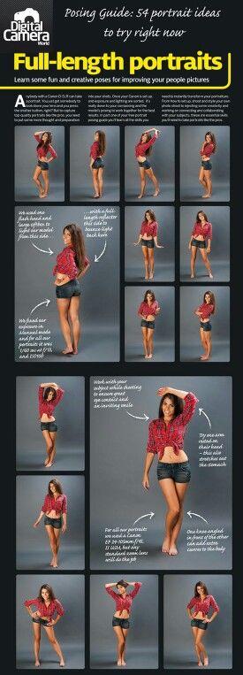 Posing Guide - Full length Portrait Posing Guide