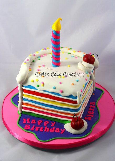 Slice of cake - by CarlasCakeCreations @ CakesDecor.com ...
