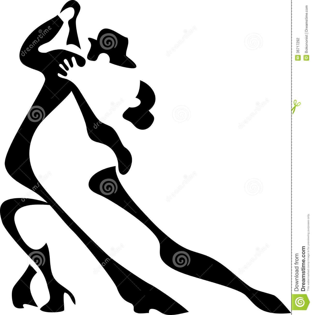 Kuva sivustosta http://thumbs.dreamstime.com/z/tango-dancers-stylized-black-white-illustration-36717292.jpg.