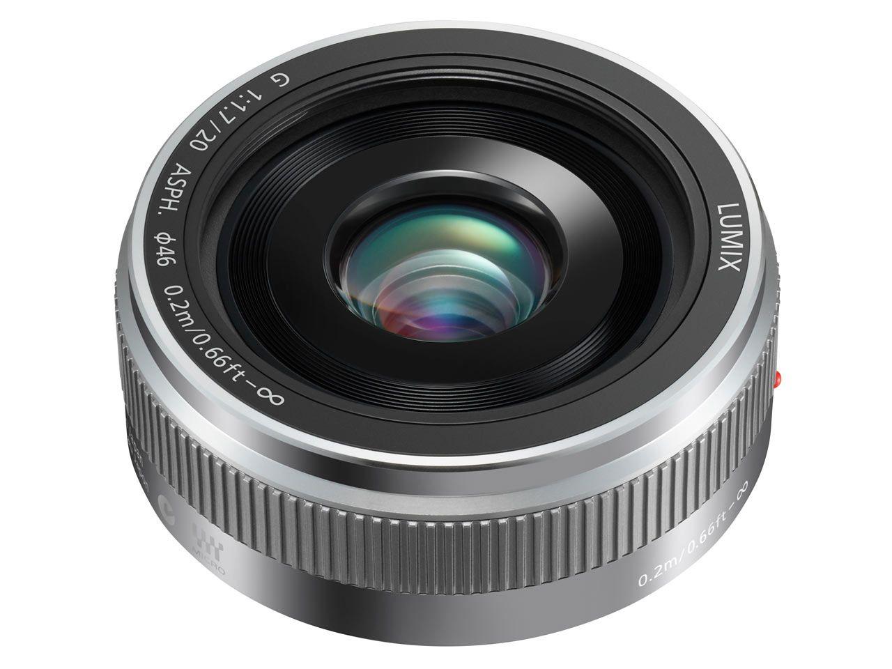 Panasonic Announces Revised Lumix G 20mm F1 7 Ii Asph Lens Distance Focale Cache Poussiere Diaphragme