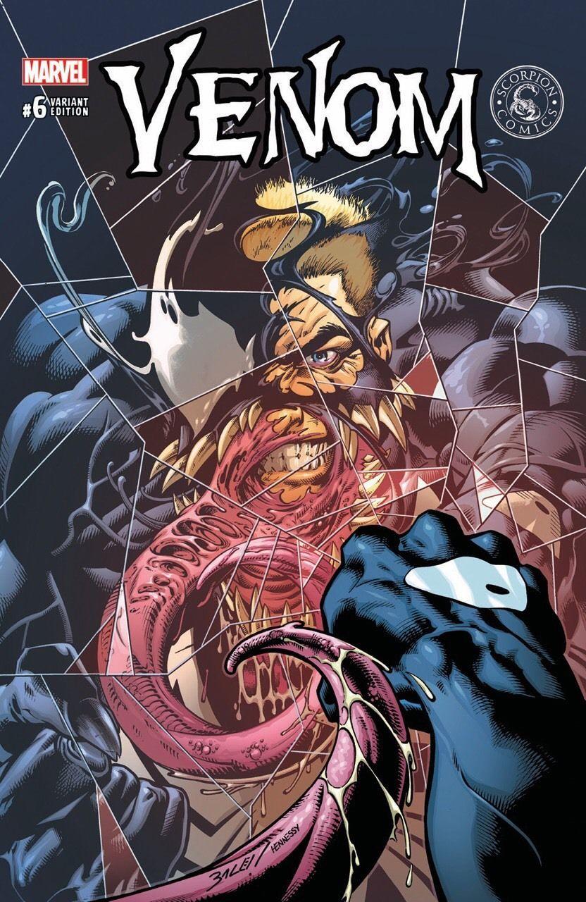 Venom vol 3 #6 | Scorpion Comics variant cover by Mark