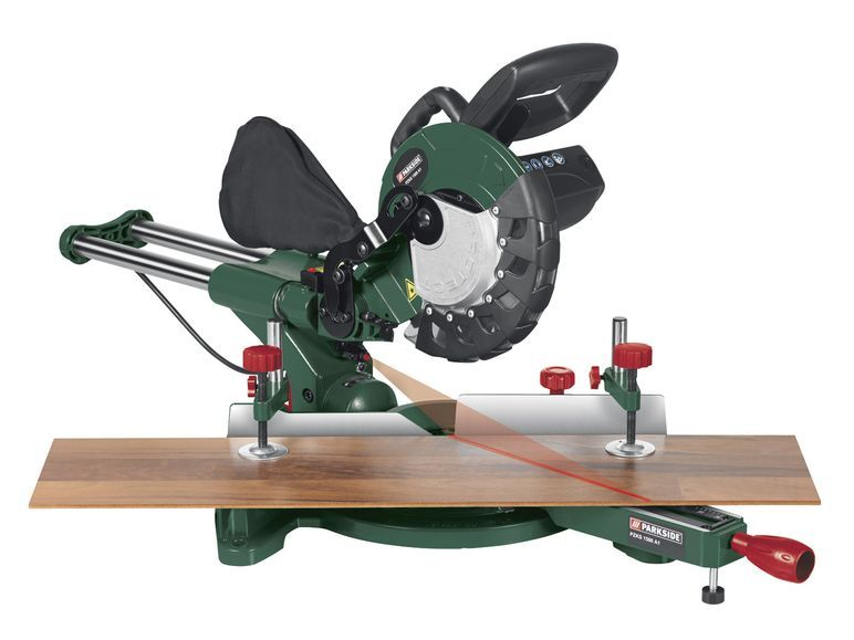 Parkside kapp und zugs ge pzks 1500 a1 1 power tools for Troncatrice parkside