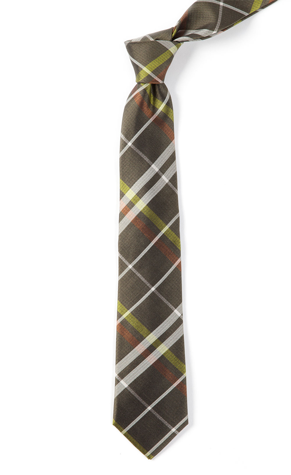 27677383b504 BARNEGAT PLAID - ARMY GREEN | Ties, Bow Ties, and Pocket Squares | The Tie  Bar