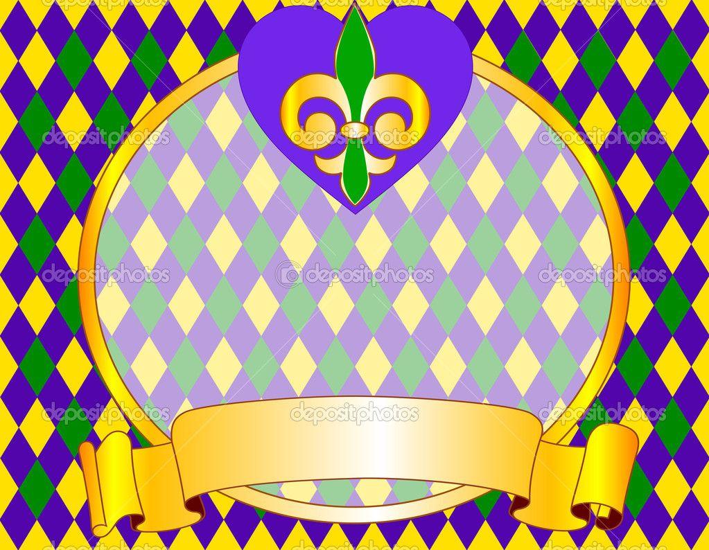 mardi gras backgrounds | mardi gras background design — stock, Powerpoint templates