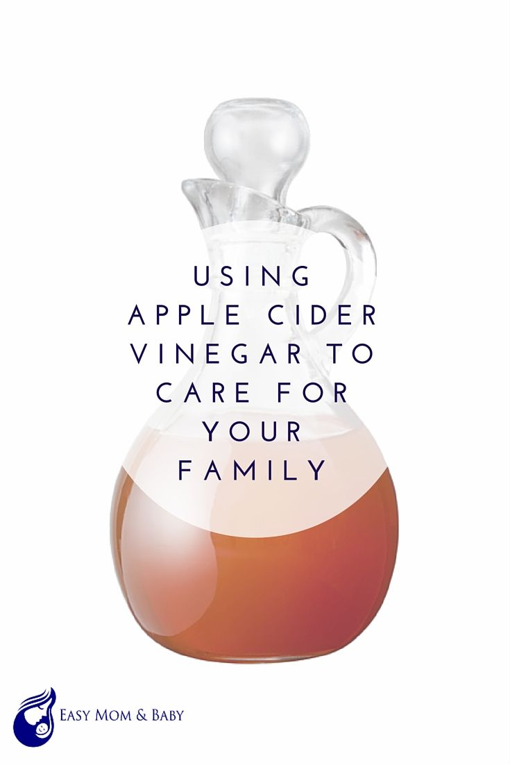 using apple cider vinegar to care for your family  new