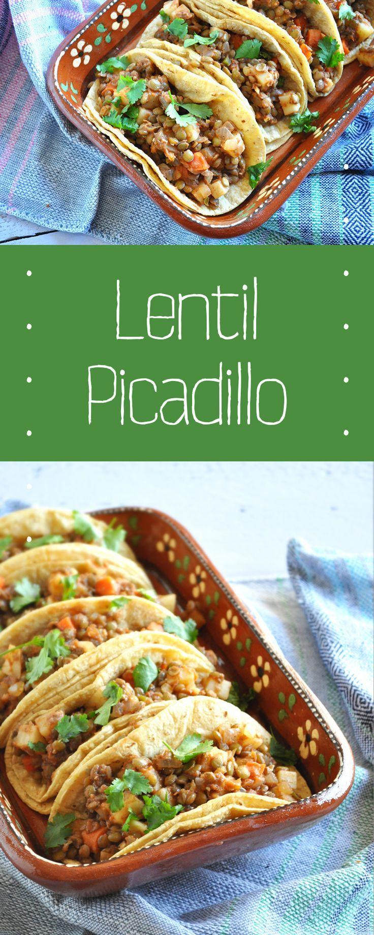 Lentil Picadillo
