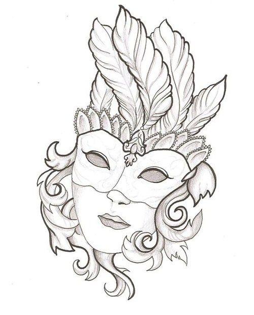 45 maszk sablon | fasching maske zeichnen, zeichenvorlagen