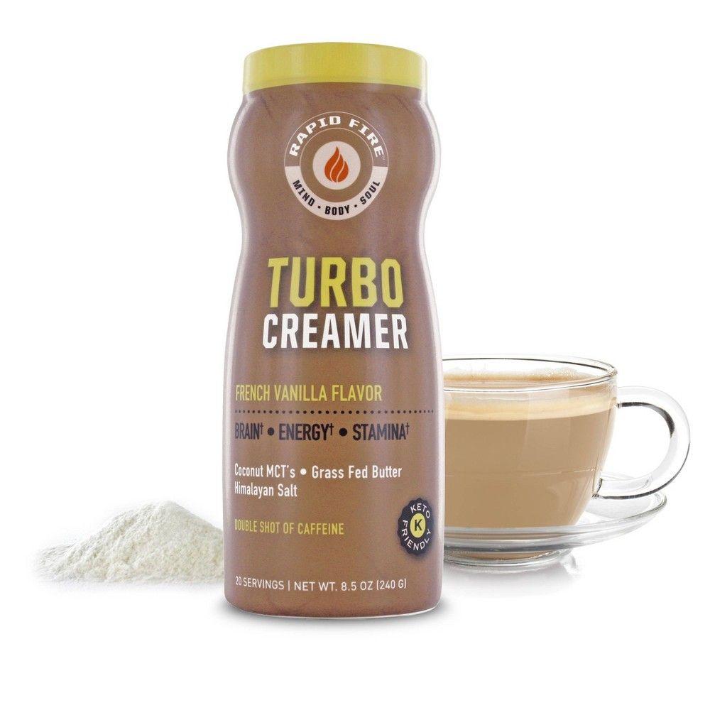 Rapid Fire Coffee Turbo Creamer 8.5oz in 2020