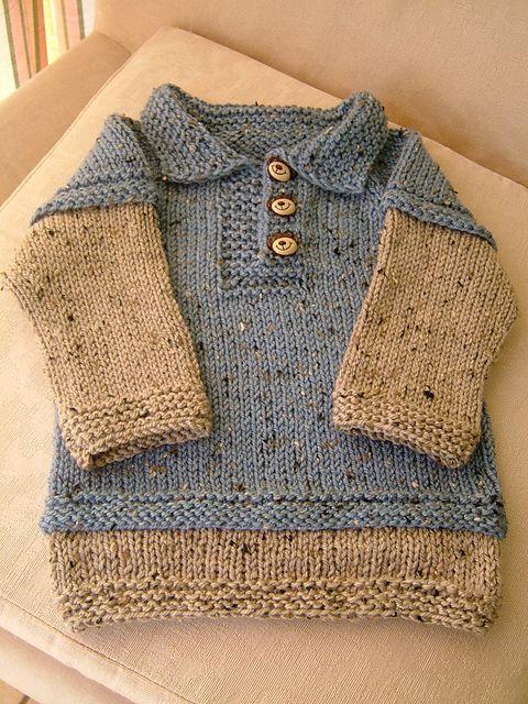 Ravelry: Telemark Pullover pattern by Erika Flory | Tejidos de niños ...