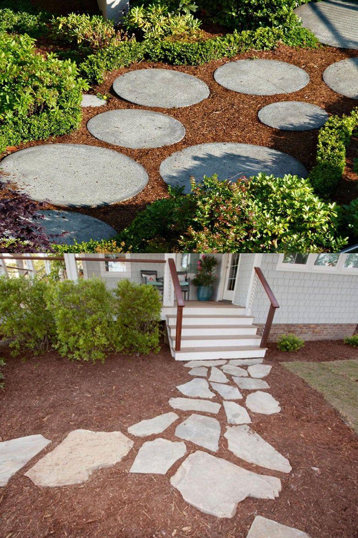 Paver Walkway Cheap Diy Garden Path Ideas