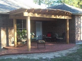 Custom Shade Arbor Builder In Houston Designing Beautiful Patio Covers,  Covered Decks, Concrete Patios