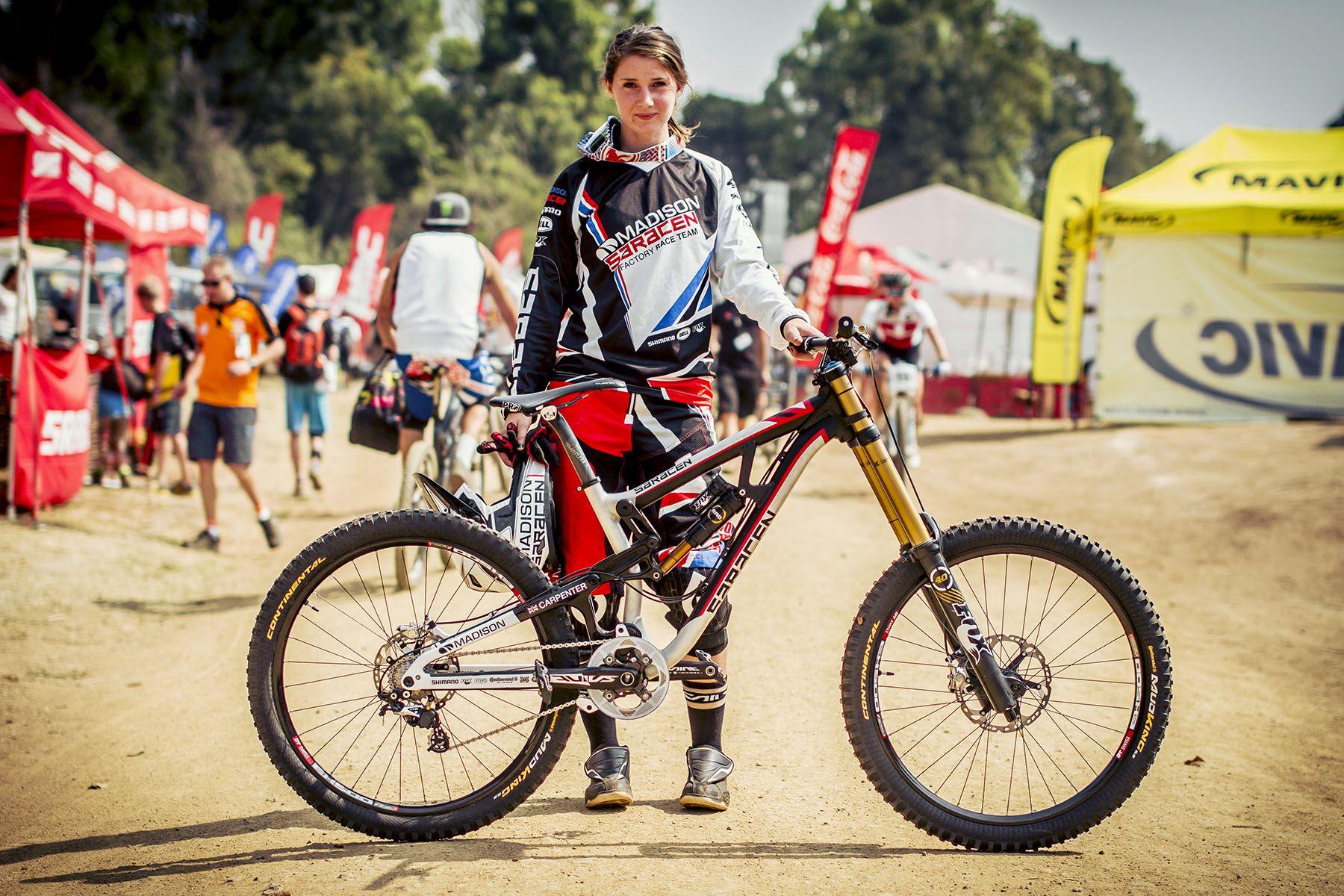 afef3554382 Manon Carpenter 002 Biker Chick, Cycling Bikes, Carpenter, Mountain Biking,  Bring It