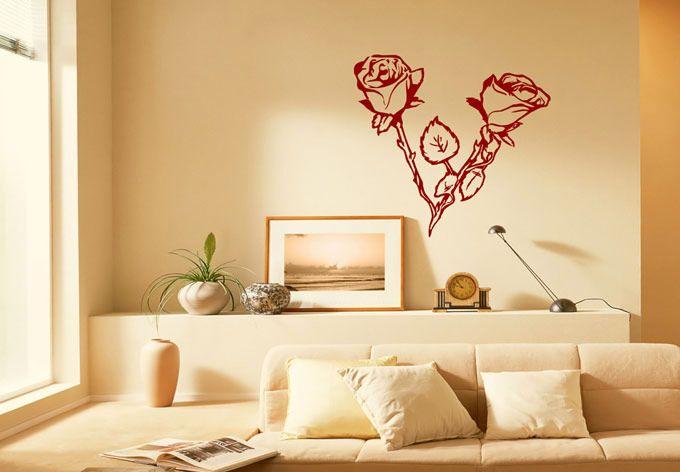 Rosebush Love Wall Decals   Love Wall Decals   Pinterest   Wall ...