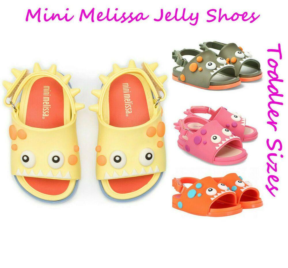 Mini Melissa Kids Mini Beach Slide Dino Slipper