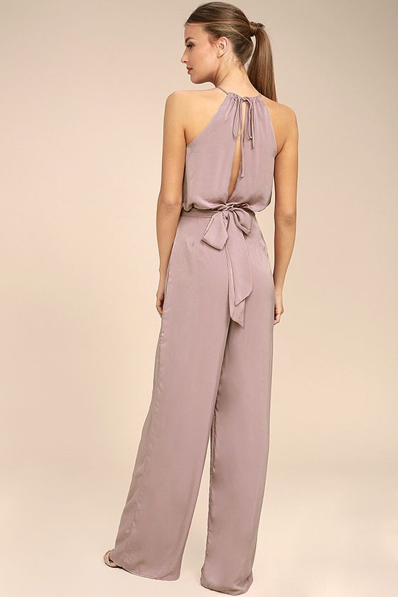ce3b19d76a4 Dance With You Mauve Jumpsuit in 2019