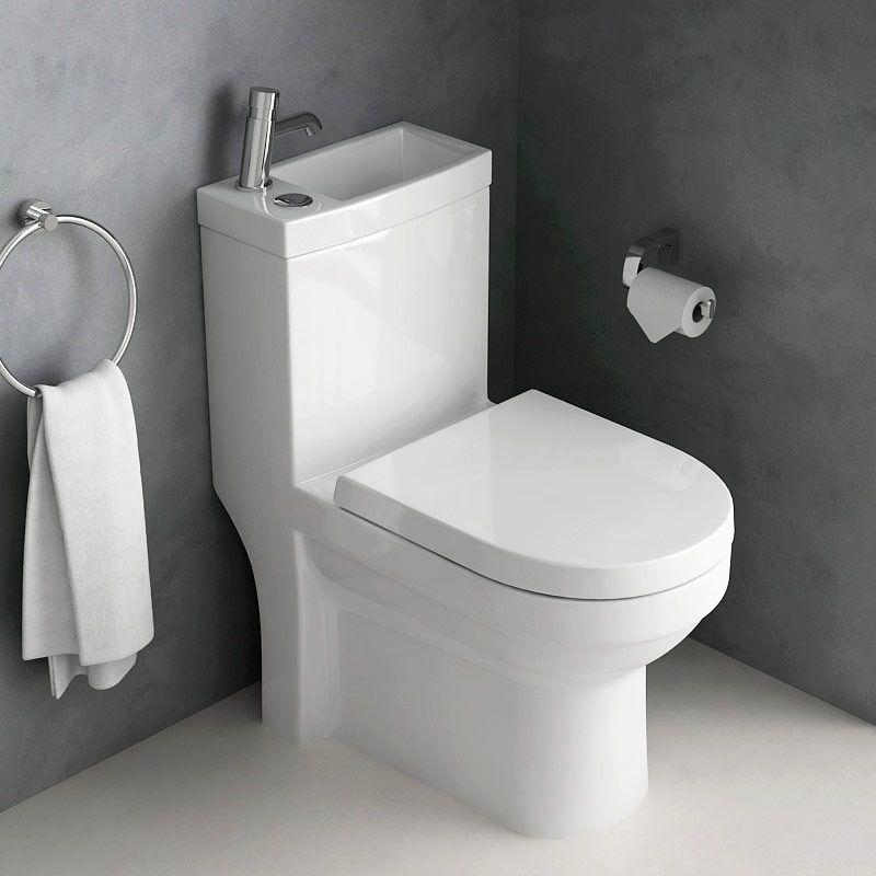 Wc A Poser Avec Lave Mains Integre Et Robinet Integral Wc A Poser Lave Main Wc Lave Main