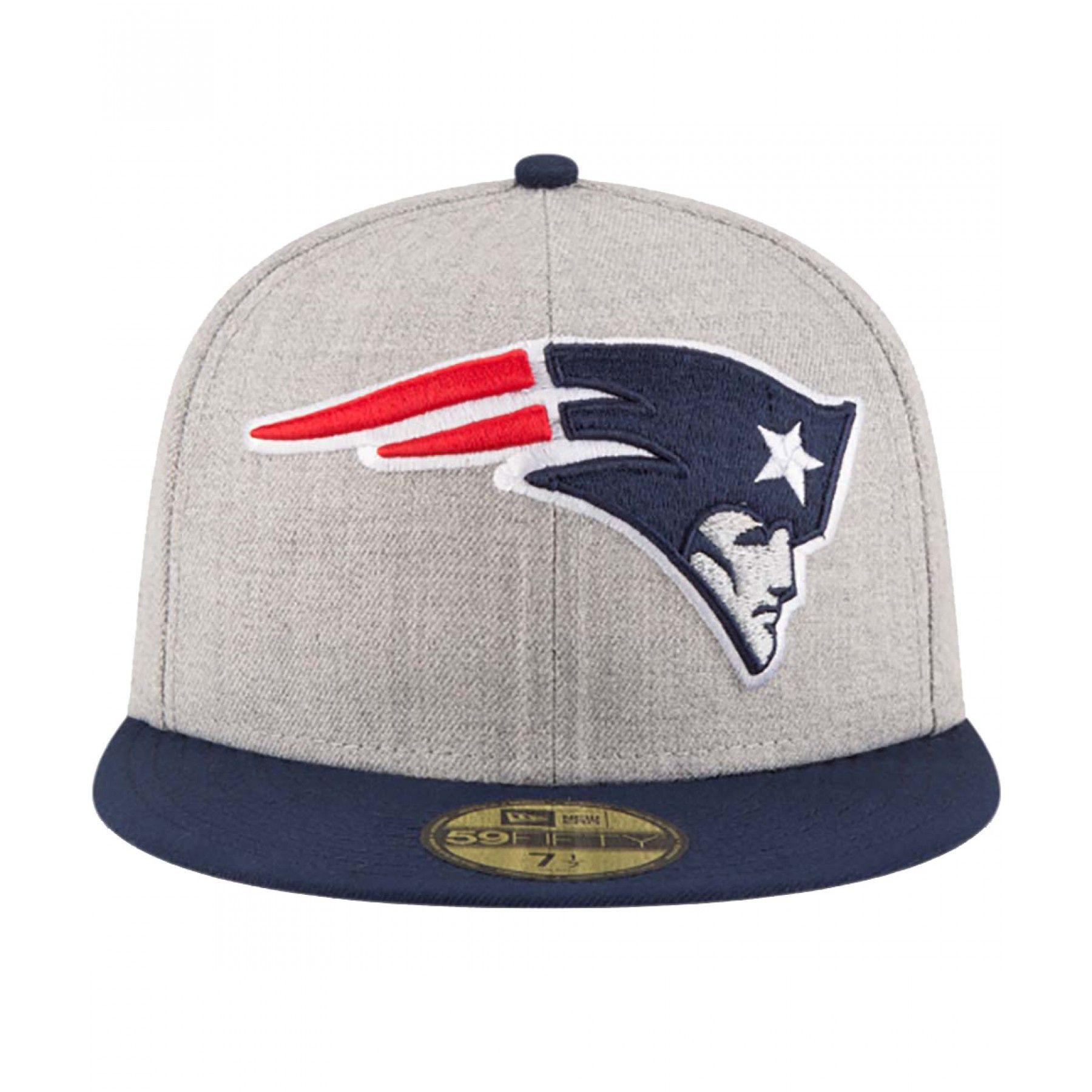 9cd6d2023122c Gorra New Era para hombre de la línea NFL en tejido de punto color gris con