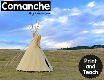 Comanche Reading Passages Print and Teach - This unit will save you a ton of planning time and allow your students to have an engaging learning experience. All you have to do is print and teach. No need to hunt for reading material that aligns with standards. #TPT $Paid
