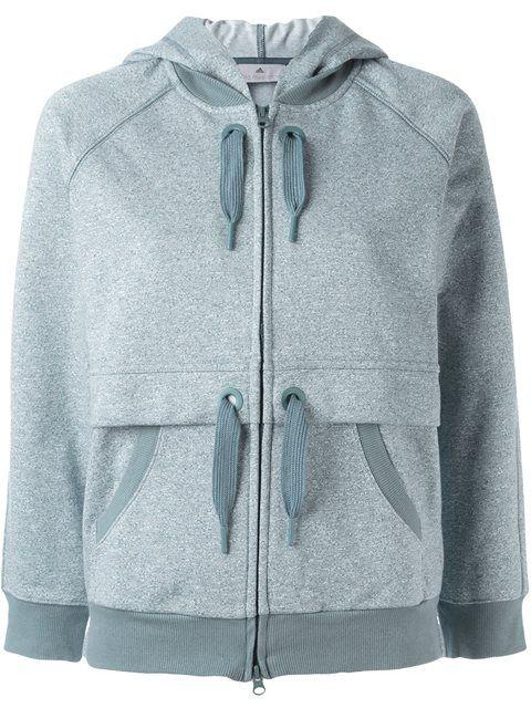 ADIDAS BY STELLA MCCARTNEY 'Ess' zipped hoodie. #adidasbystellamccartney #cloth #hoodie