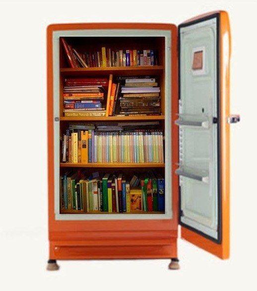 Convertire un vecchio frigorifero in una cassaforte libro.