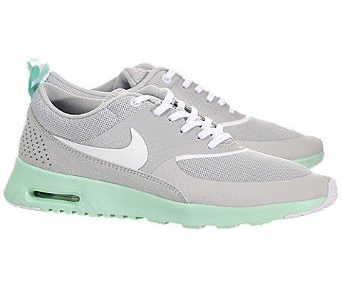 nike air max thea womens grey green