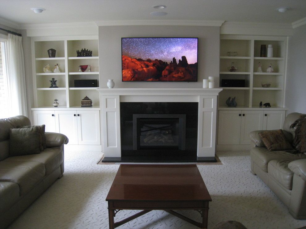 how to update a 1970s stone fireplace uk