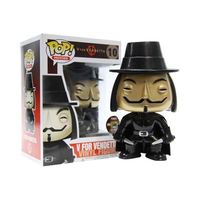 Funko V For Vendetta Metallic Pop Vinyl Funko Pop