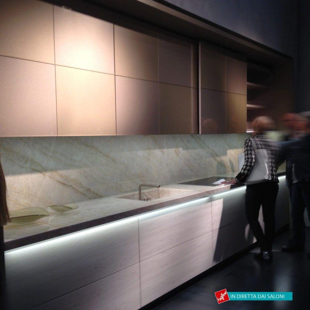 Salone del Mobile 2014: mix di materiali per le nuove cucine | Arch ...
