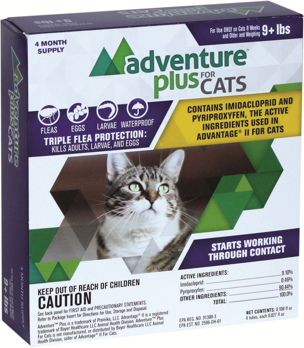 Adventure Plus Flea Medicine For Dog And Cat 100 Made In The