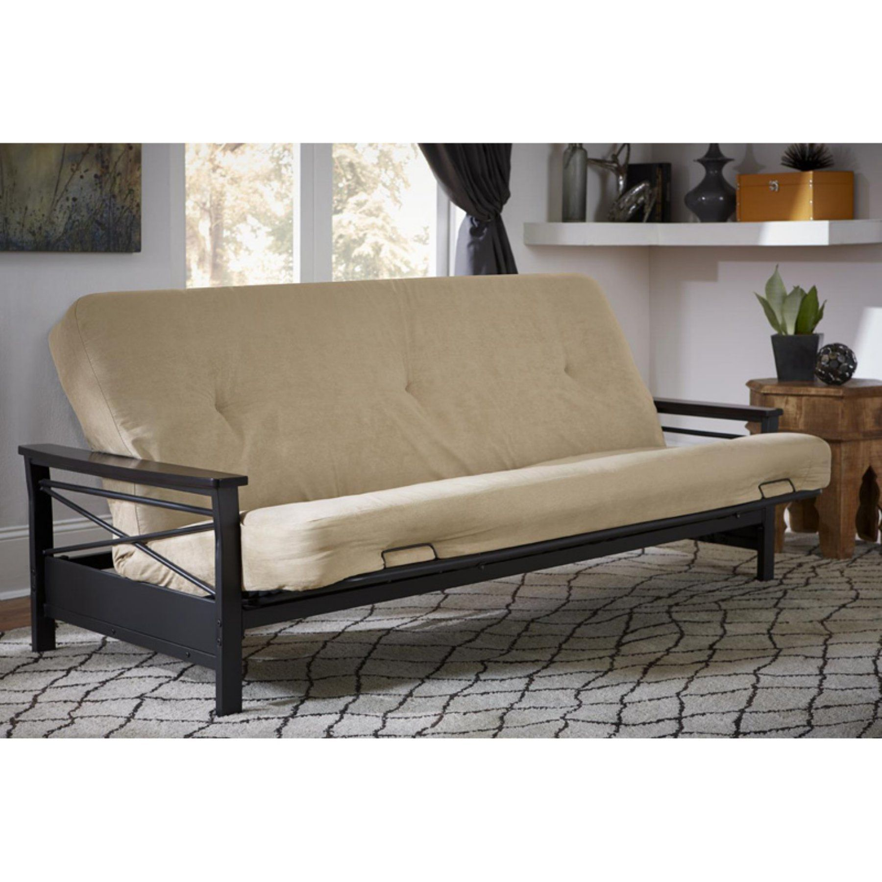DHP 6 in. Coil Futon Mattress with CertiPUR-US Certified Foam ...