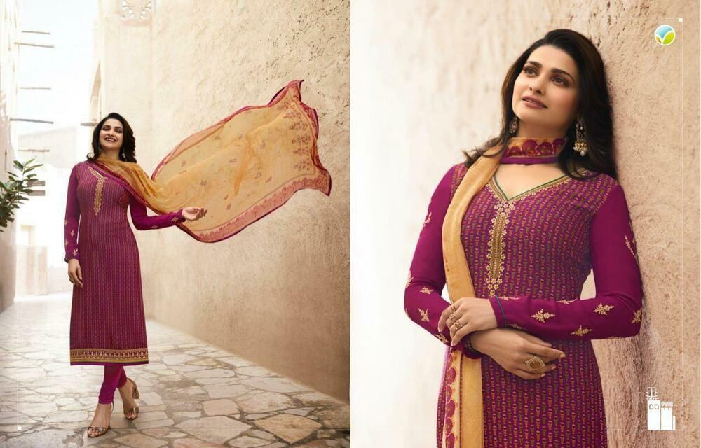 a68f30ae3c Crepe churidar punjabi suit pakistani shalwar partywear indian salwar  kameez set #Handmade #SalwarKameez