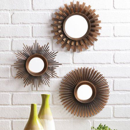 Attirant Better Homes And Gardens 3 Piece Mirror Set, Multiple Finishes   Walmart.com